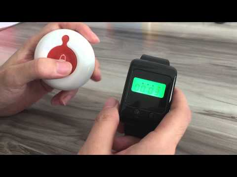 Wireless calling system pager system E-waiter restaurant call system