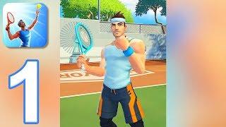 Tennis Clash - Gameplay Walkthrough Part 1 - Tutorial (iOS, Android)