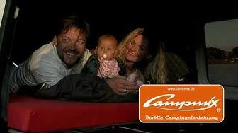 CAMPMIX BETT mobile Campingeinrichtung