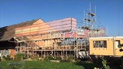 Aufrichte Holzhaus in Willisau (Luzern) - September 2018