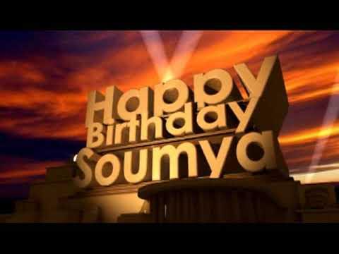 Happy Birthday Soumya