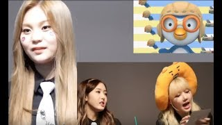 [ENG] Umji Yerin sing Pororo, Nick Sowon, Judy Eunha, Wise yuju & Sweet Sinb