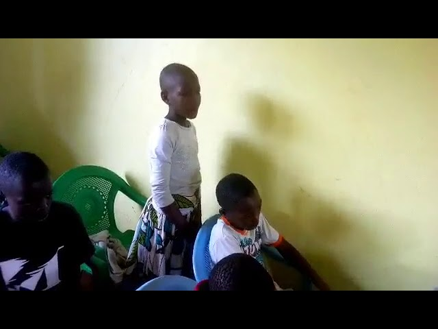 Young Girl Reciting Bible Verses WFF Moisbridge