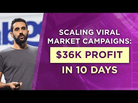 Scaling Viral Marketing Campaigns: $36K Profit In 10 Days thumbnail