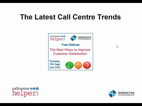 Call Centre Helper: Webinar Replay - The Best Ways to Improv