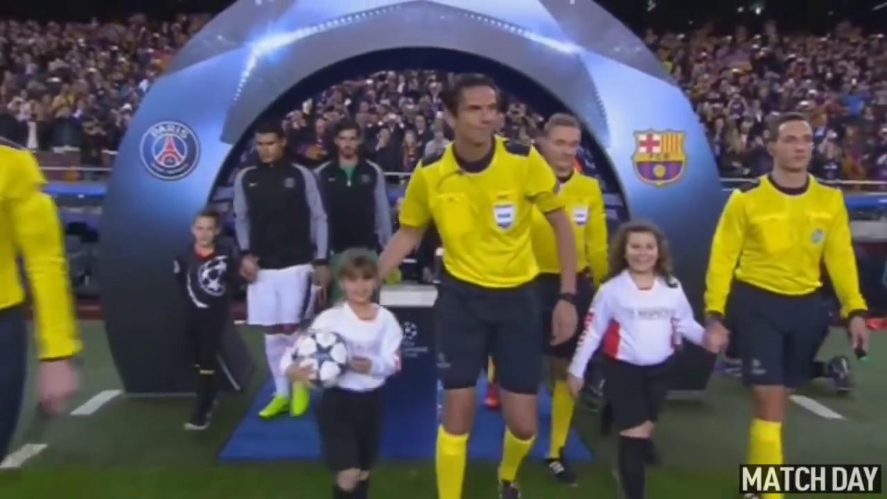 r u00e9sum u00e9 barcelona - psg  6-1  match historique