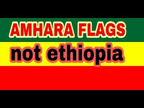 ethiopian flag or amhara flag? ethiopian crisis 2018