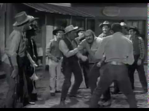 Dan Blocker vs Chuck Conners