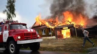 Пожар на Пугачева из-за молнии, Ri-tv