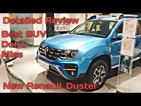 Top Model /New RENAULT DUSTER 2019 walk-around review /Interior, Features/ PlusDrive