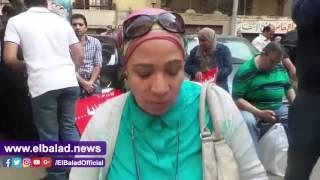 ملاك 'الحزام الأخضر' يتظاهرون أمام مجلس الوزراء.. فيديو وصور