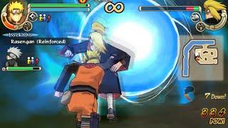 Naruto Shippuden Ultimate Ninja Impact Walkthrough Part 8 Naruto vs Deidara (60 FPS)