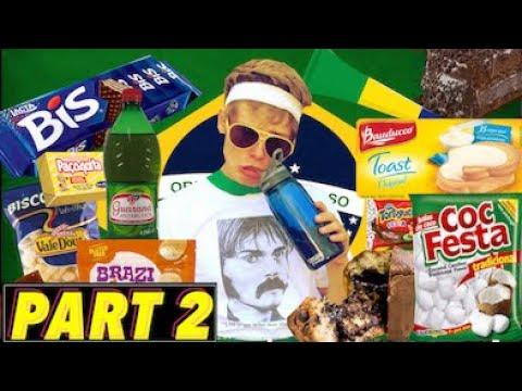 TESTING BRAZILIAN FOODS Pt 2