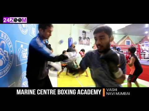Marine Centre Boxing Academy with Indian PRO champ Siddharth Verma