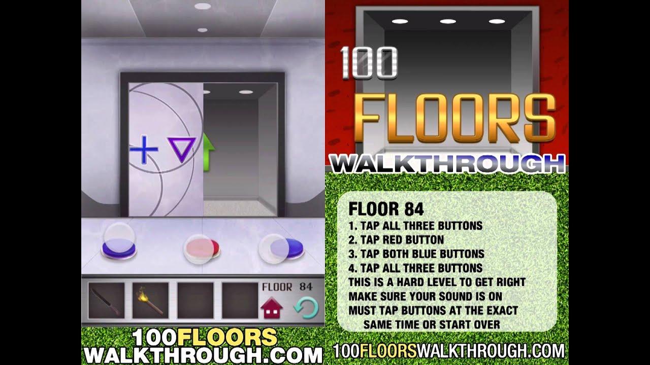 Floor 84 Walkthrough 100 Floors Walkthrough Floor 84