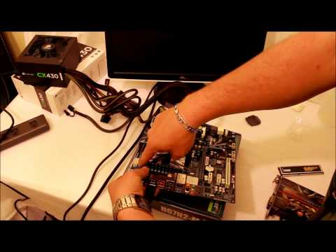 how to test a new motherboard