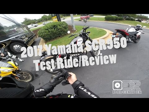 2017 Yamaha SCR950 Test Ride & Review