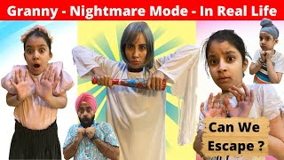 Granny - Nightmare Mode - In Real Life - Can We Escape ? | RS 1313 VLOGS | Ramneek Singh 1313