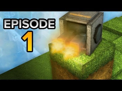 Justin & Anthony Play Block Fortress! Ep. 1 - Minecraft Meets Tower Defense