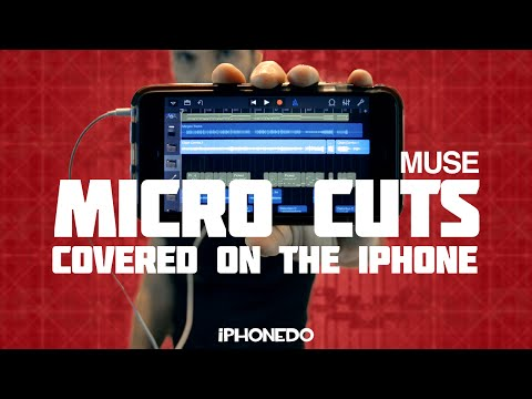 Muse — Micro Cuts (covered on the iPhone) - 동영상