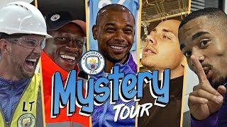 SURPRISE MYSTERY TOUR! | Jesus, Mendy, Stones, Fernandinho & Angelino Prank Kids!