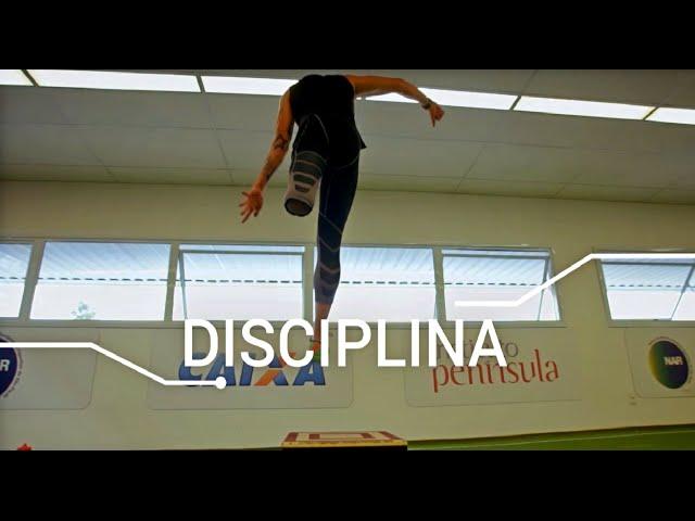 #AbraceoEsporte - Disciplina