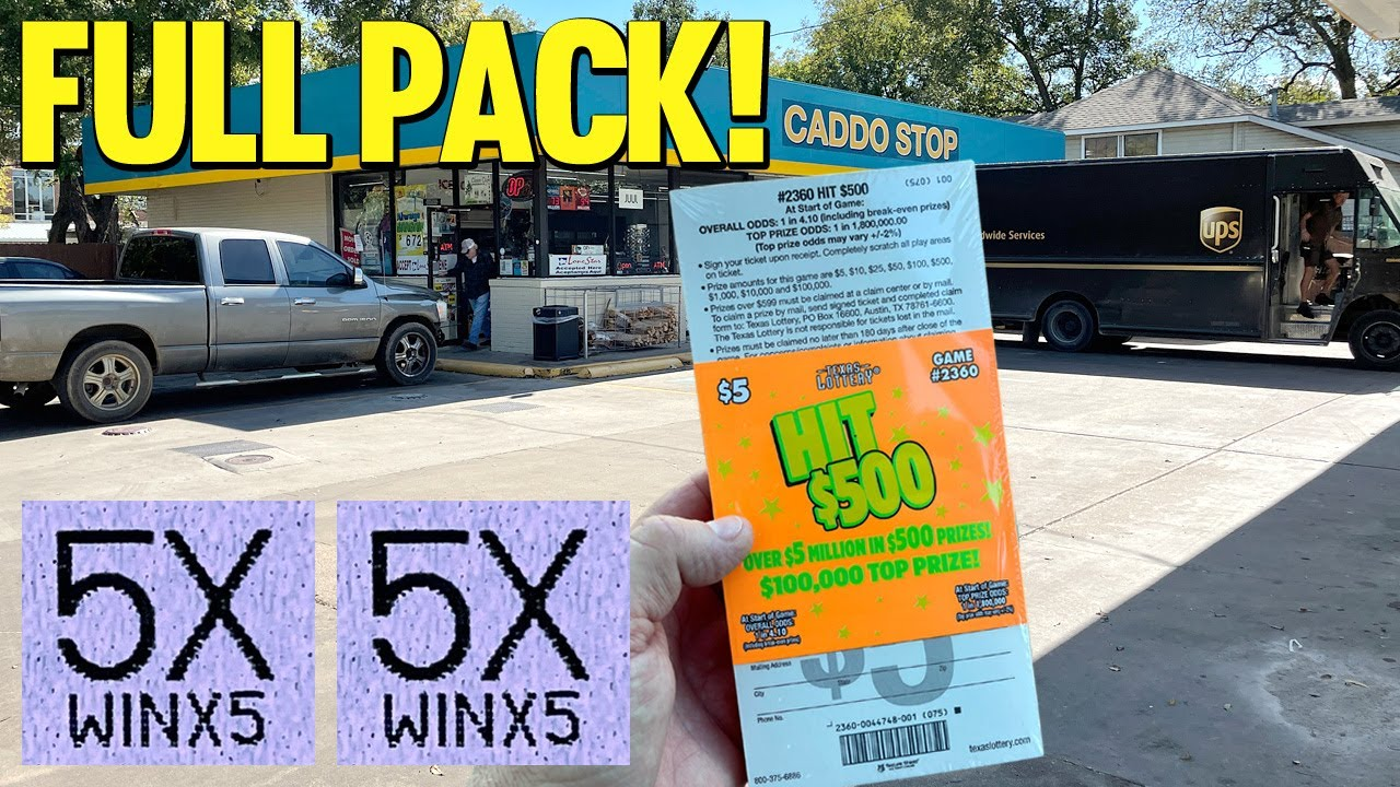 FOUND ONE! 💰 **FULL PACK** 75X Hit $500 🔴 TEXAS LOTTERY Scratch Off Tickets