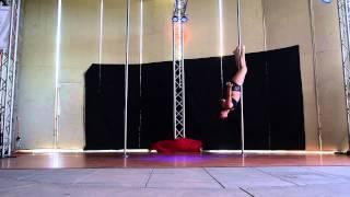 Clarissa M. - Intermediate - 2015 Epic Pole Dance Competitions