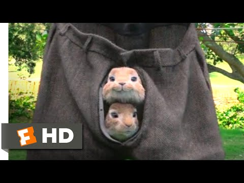 Peter Rabbit - Sneaking In Scene | Fandango Family