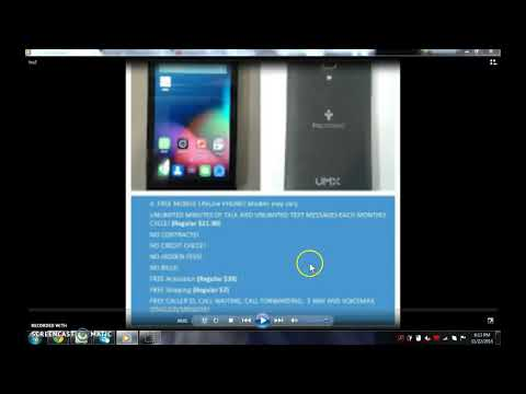 Best Free government phone Truconnect unlimted talk and text plus 3g