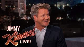 Gordon Ramsay Is Too Fit for a Chef - Jimmy Kimmel Live