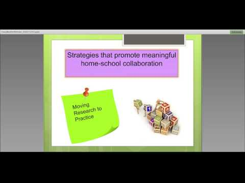 Moving Research to PracticeHome School Collaboration2OCT13
