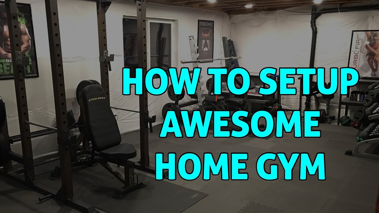 Home gym how to setup an awesome one in basement or bedroom