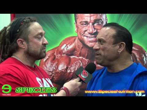 Arnold Classic Interview with Species Nutrition CEO Dave Palumbo