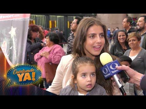 VIDEO: ¡Michelle Renaud no hace caso a críticas sobre su relación con Danilo Carrera! | Cuéntamelo YA!