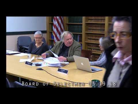 Board of Selectmen 03.19.18