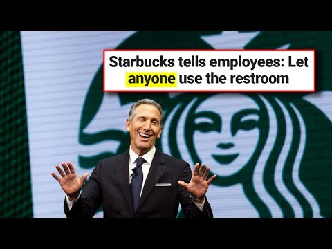 Starbucks Now Lets ANYONE Use Their Bathrooms. What Could Possibly Go Wrong?
