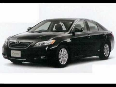 Toyota Camry 2008-Black for sale in Qatar