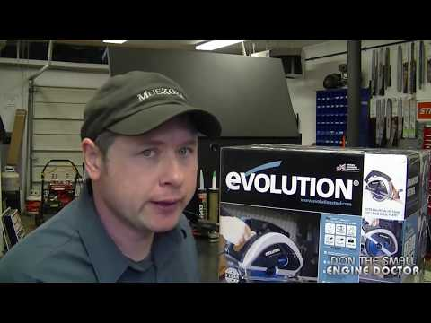 """Evolution Evosaw230 9"""" Steel Cutting Circular Saw: Small Engine Doctor review!"""