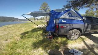 Truck Tent Camping - Chevy Colorado Lake Hemet