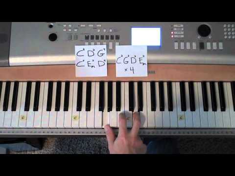 Easy To Play Piano The Anthem By Planetshakers Youtube