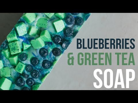 Blueberry......Salad Soap? | Royalty Soaps