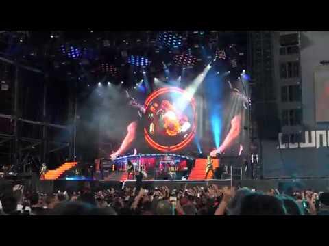 Guns N' Roses - Slash Solo/Sweet Child O'mine - Download Festival Paris 2018 (v2)