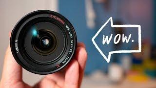 Panasonic 12-35mm f2 8 BEST Lens for Micro Four Thirds Cameras