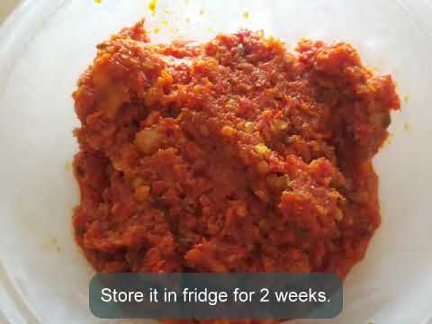 Thecha | Red Chilli Chatni | Malaysian Chilli | Quick and Easy Recipe
