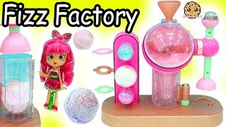 LOL Surprise Making Fizzy Bath Bombs Fizz Factory Maker Machine with Shopkins Shoppies Doll