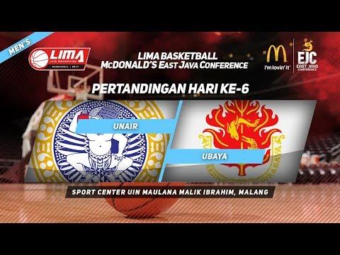 UNAIR vs UBAYA di LIMA Basketball McDonald's East Java Conference 2017 (Men's)