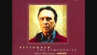 Claudio Abbado  - Beethoven  - Symphony No.  9   Mov.  IV - Part 2