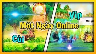 Ngọc Rồng Online - Từ Cùi Đến Vip Trong Một Ngày Online Game | Bạn Thì Sao ???