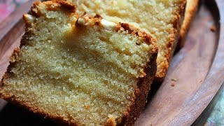 Best Pound Cake Recipe - Eggless Version